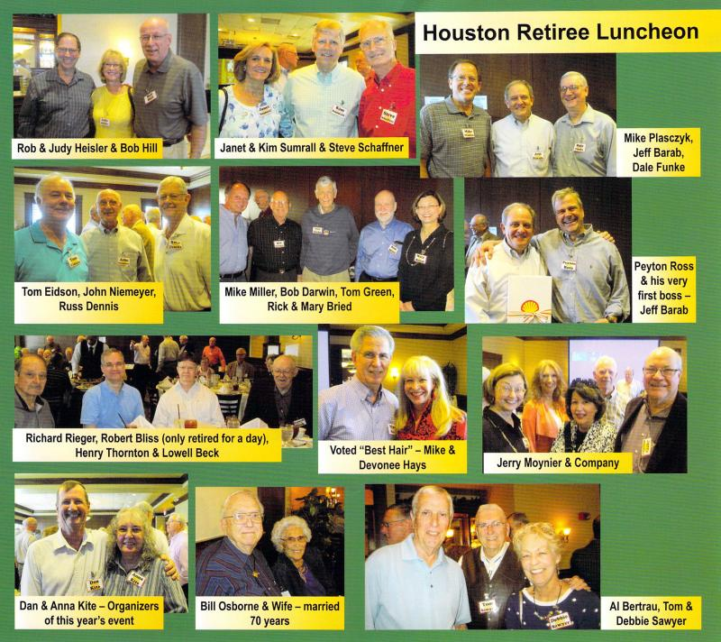 March 2016 Houston Area SPLC Retirees Luncheon